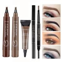 waterproof long lasting eyebrow pencil cosmetic eyebrow pen natural eye brow pencil tint eyebrows pen eye makeup beauty tools