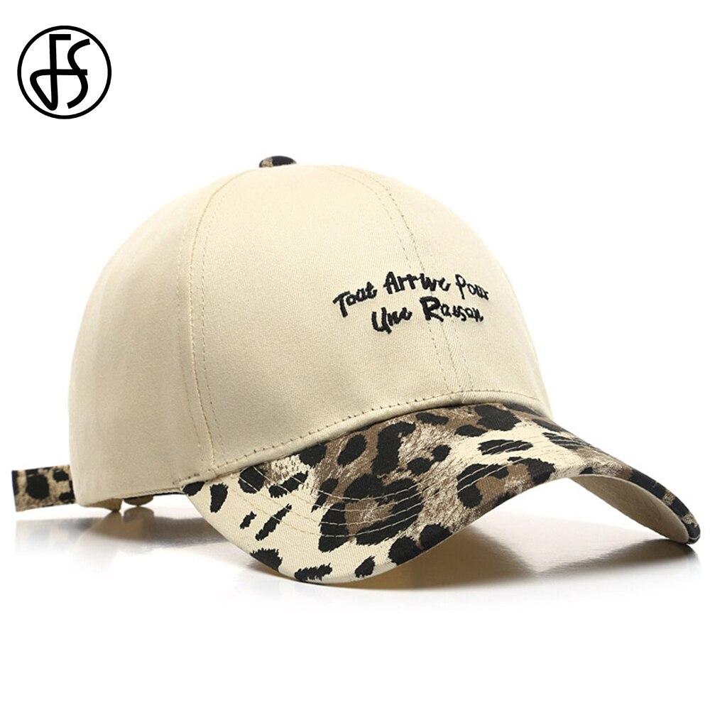FS Sommer Luxus Leopard Print Baseball Kappe Beige Gelb Frauen Hüte Streetwear Hysterese Hip Hop Trucker Caps Für Männer Casquette