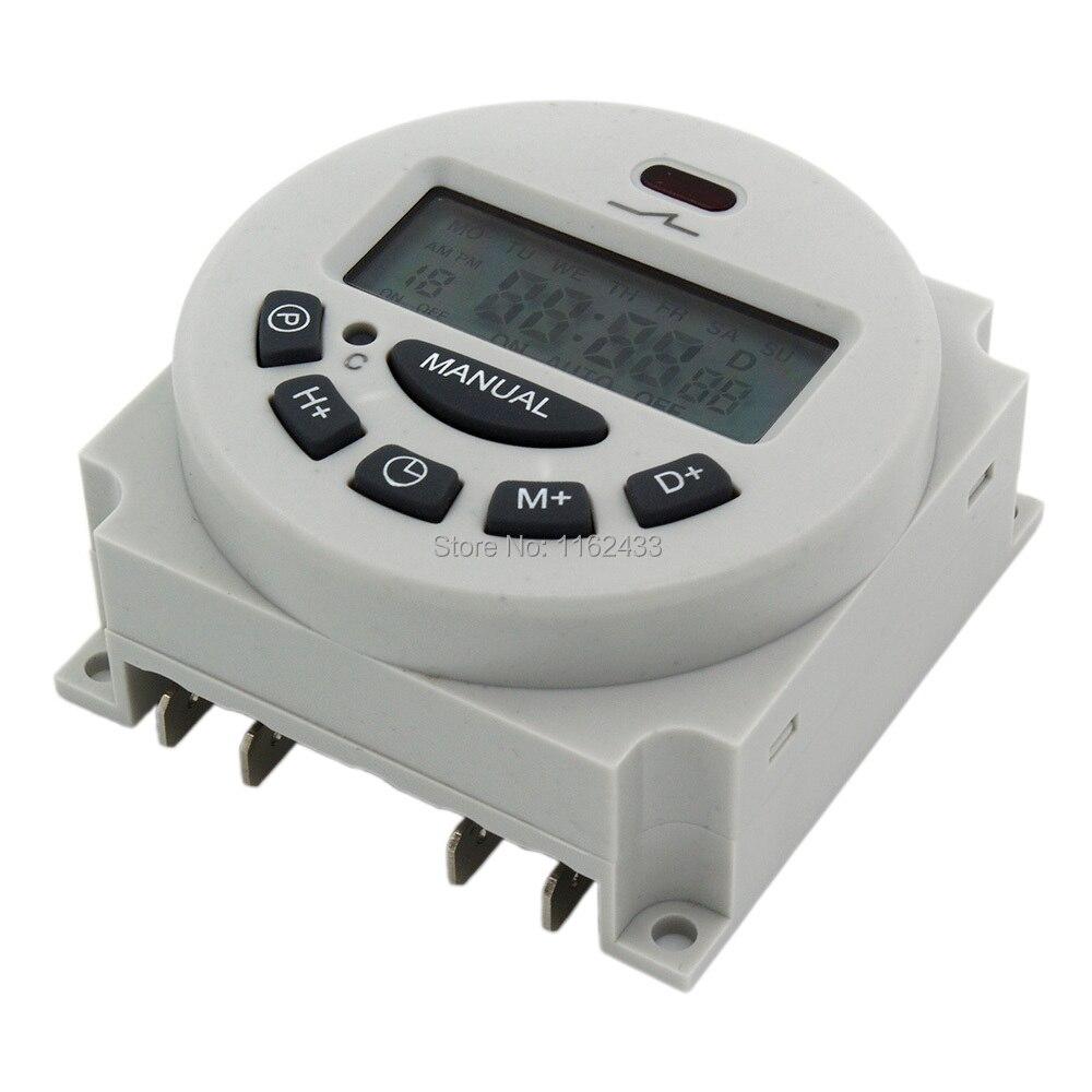 L701 CN101A AC 110V 16A цифровой таймер 110VAC Еженедельный программируемый электронный таймер