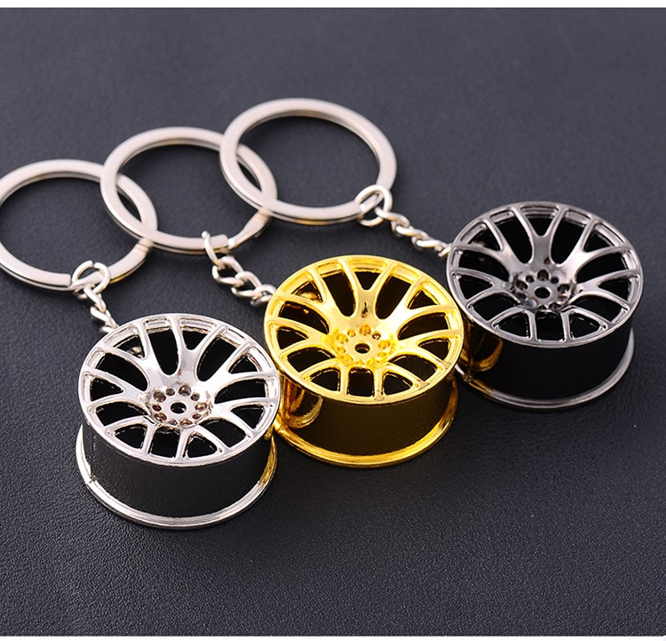 Llanta de la rueda del coche clave cadena para Peugeot 307, 206, 308, 407, 207, 3008, 508, 406, 300