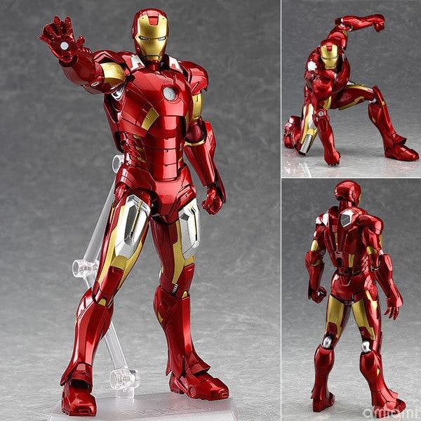 Disney Avengers 2 Age of Ultron figma217 Iron Man iron man Tony super movable model