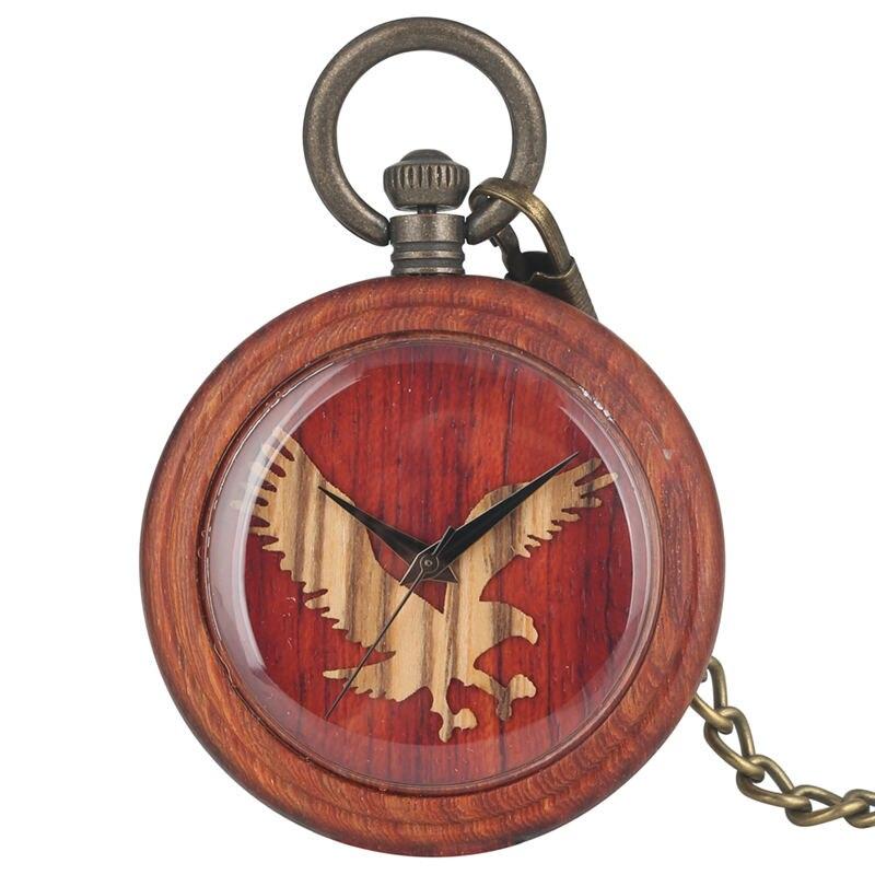 Классические кварцевые деревянные карманные часы, женские, с рисунком совы, мужские, Подвесные часы, ожерелье, подарок, мужские часы Warcraft reloj...