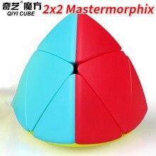 Qiyi mastermorphix 3x3 ou mastermorphix 2x2 Cube sans colle riz boulette magique Cube vitesse Cube jouets pour enfants enfants