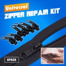 12PCS/Set Instant Zipper Universal Instant Fix Zipper Repair Kit Replacement Zip Slider Teeth Rescue New Design Zippers For Sew