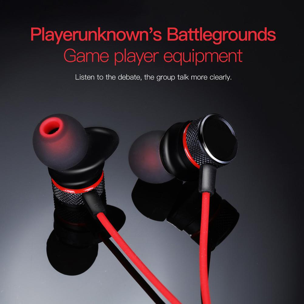Gaming fone de ouvido g15 in ear cancelamento de ruído gaming fone de ouvido de áudio computador fone de ouvido com capacetes gamer para pubg ps4