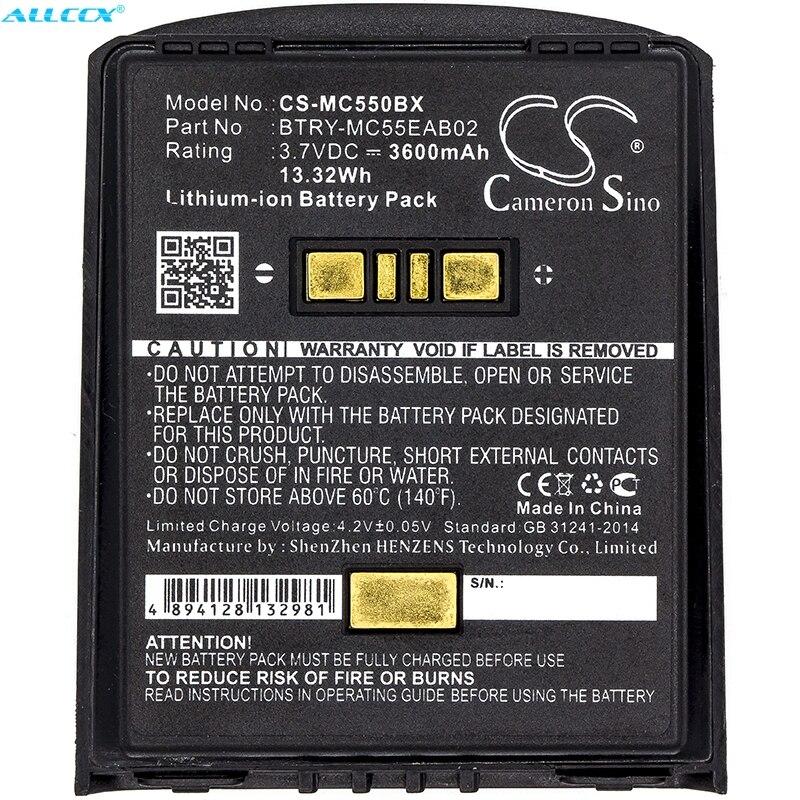 Cameron Sino 3600mAh Batterie BTRY-MC55EAB02 für Symbol MC55, MC5574, MC5590, MC55A, MC55A0, MC56, MC65, MC659, MC659B, MC67