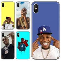 Rapper DaBaby Coolest Silicone Caixa Do Telefone Para Samsung Galaxy J1 J2 J3 J4 J5 J6 J7 J8 Plus 2018 Prime 2015 2016 2017 UE