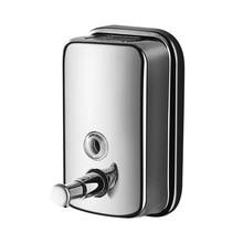 500/800/1000ML Bathroom Wall Mounted Soap Dispenser Stainless Steel Hand Press Liquid Soap Dispensers Home Improvement