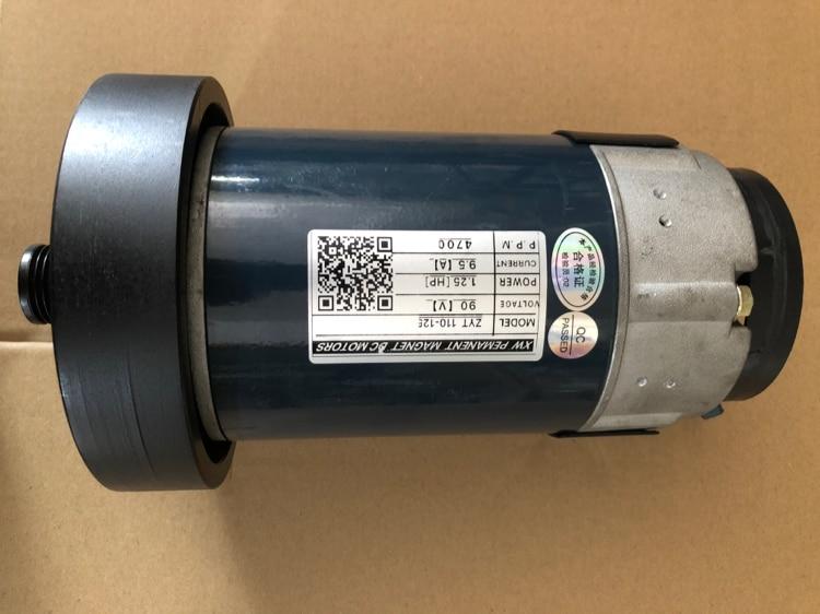 مفرغه موتور تيار مباشر ZYT110-125 1.25HP 9.5A 4700rpm PEMANENT المغناطيس موتور تيار مباشر S
