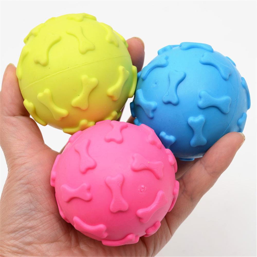 1 шт. диаметр 6 см скрипучий мяч для комнатной Собаки Игрушки для маленьких собак резиновая игрушка для жевания щенками собачьи вещи игрушки для собак товары для домашних животных