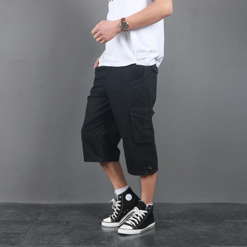 Шорты мужские пляжные в стиле милитари, тактические штаны-карго, много карманов, свободные штаны для скалолазания и треккинга, лето