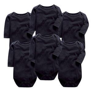 Блузка с длинным рукавом для новорожденных 0-24 месяцев