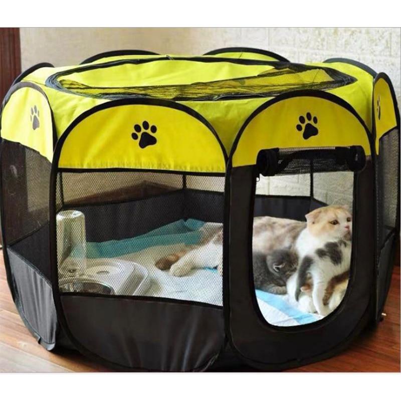 Tienda de campaña al aire libre para mascotas, caseta portátil, cercas para...