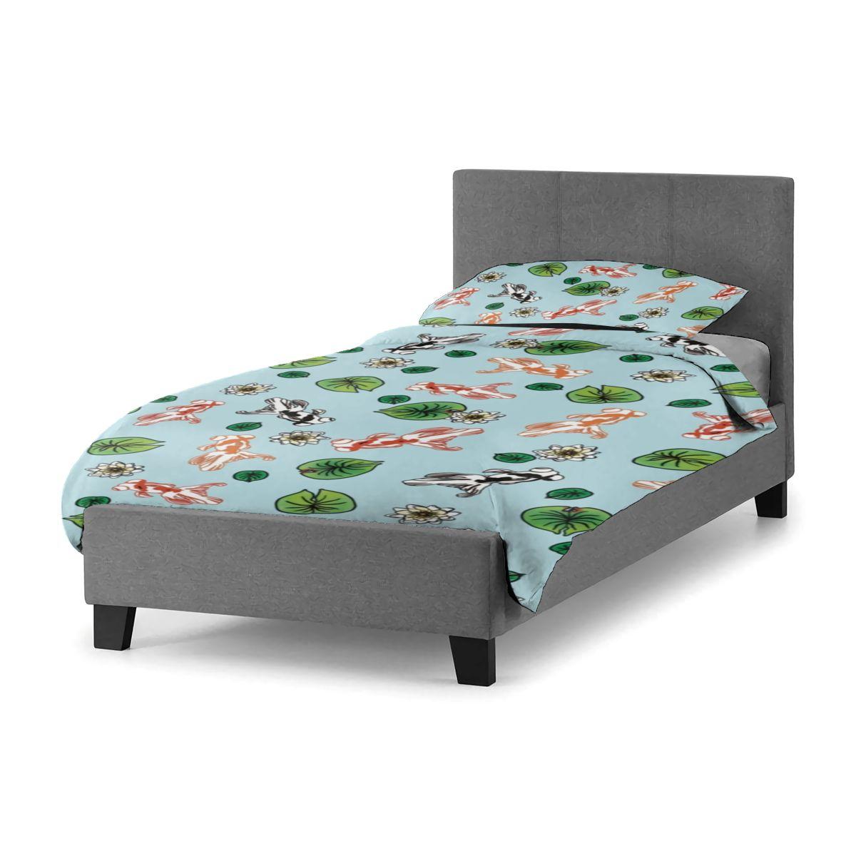 طقم سرير Kingyo بالجملة أغطية سرير ناعمة مجموعة أغطية سرير الحدث