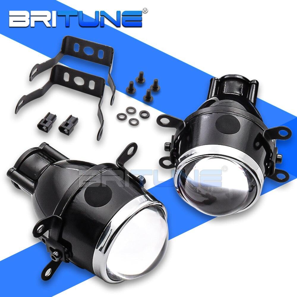 Автомобильные линзы, противотуманные фары PTF, универсальные прожекторы H11 H8 H9 HID, водонепроницаемые Биксеноновые автомобильные линзы, автом...