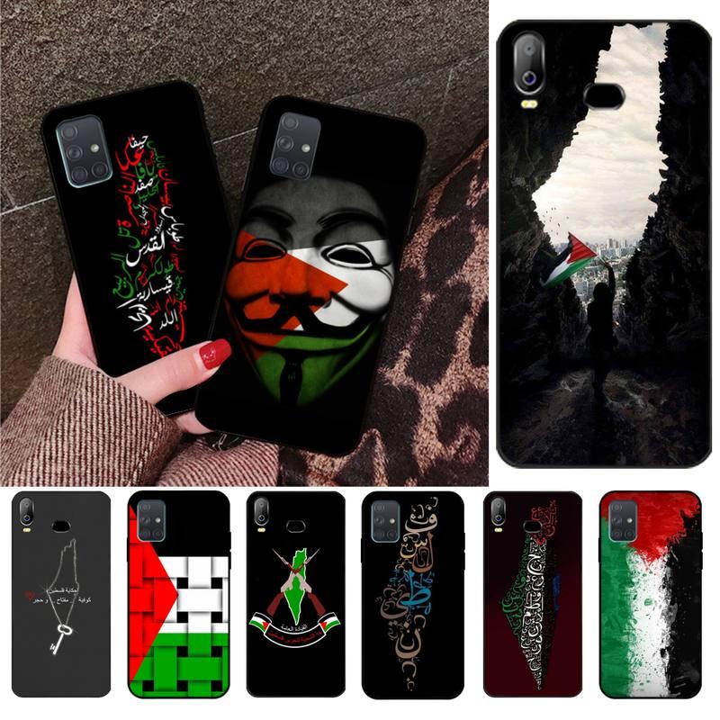 HPCHCJHM Cute Palestine Broadsword DIY Painted Bling Phone Case For Samsung A10 A20 A30 A40 A50 A70 A71 A51 A6 A8 2018