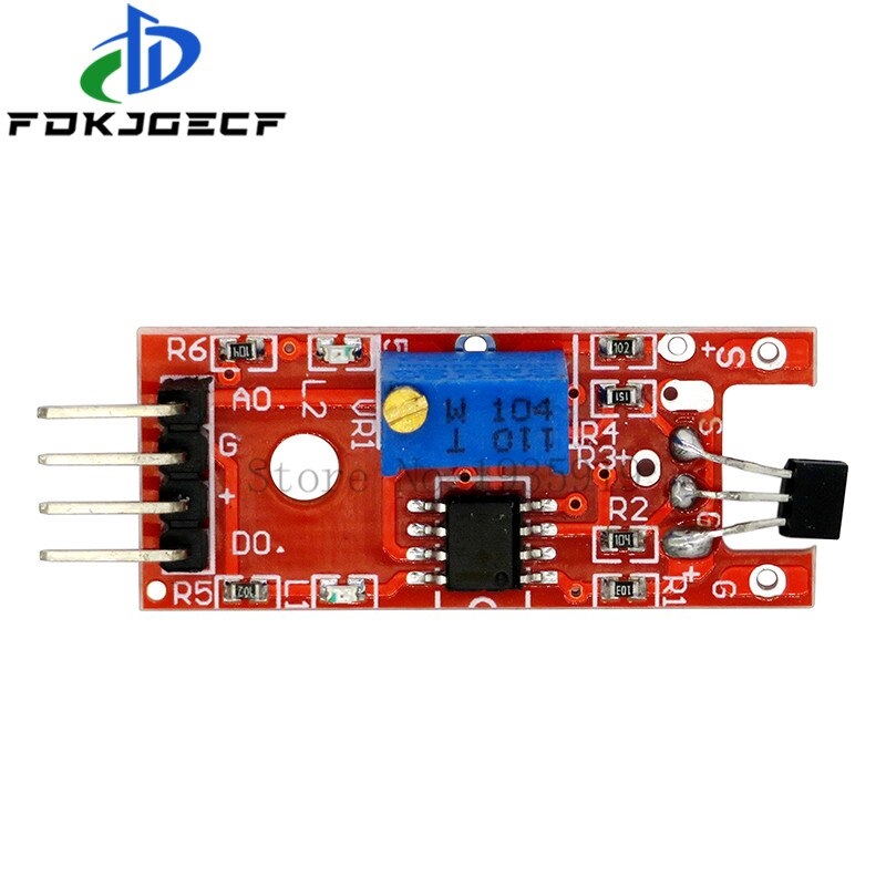Details about  /1pcs 4pin KY-024 Linear Magnetic Hall Switches Speed Counting Sensor Module