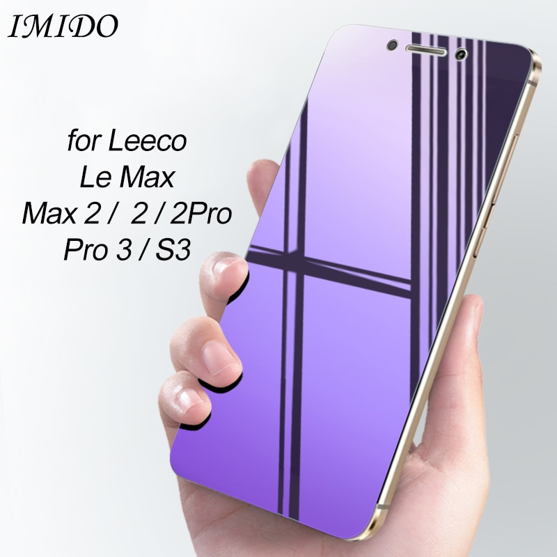 Полное покрытие анти-синий протектор экрана для Letv Le Max 2 Pro 3 AI S3 1S Eco закаленное стекло для LeEco Le Max 2 Pro 3 AI S3 пленка