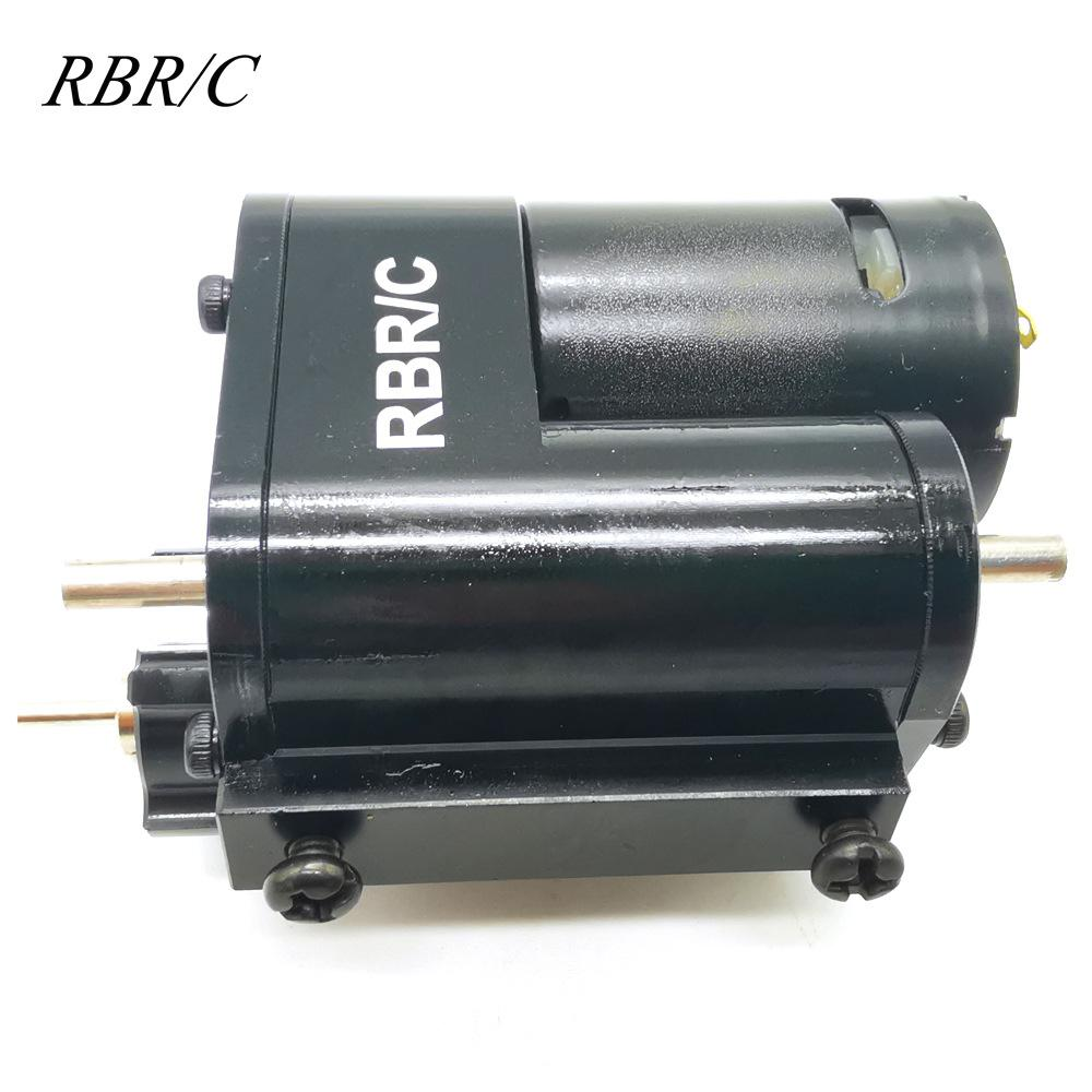 RBR/C R481 Metal 2 Modes Adjustable Gear Box Climbing Off-road Remote Control Vehicle Upgrade Model Accessories for WPL MN enlarge