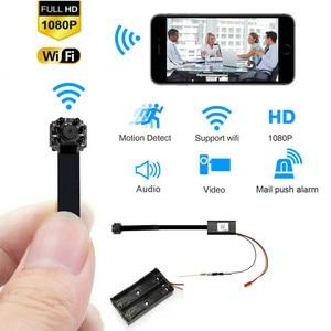 Night view HD Portable WiFi IP Mini Camera P2P Wireless Micro Camcorder Video Recorder Support Remote View  TF card