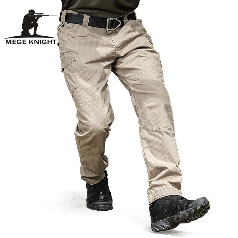 MEGE-بنطلون عسكري تكتيكي للرجال ، ملابس قتالية ، قطن ، مقاوم للتمزق ، جيوب متعددة