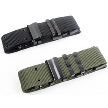 Ceinture tactique ceinture militaire Nylon hommes Sport de plein air accessoires de chasse ceintures de bataille Airsoft Combat taille soutien ceinture de service