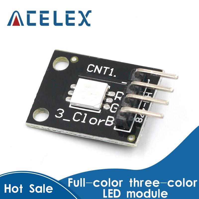 5PCS KY-009 5050 Pwm RGB SMD LED Module 3 Color Light For Arduino MCU Raspberry CF
