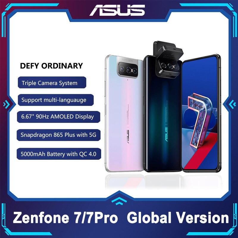 ASUS Zenfone 7/7 Pro 8 Гб Оперативная память 128/256 ГБ Встроенная память Snapdragon 865/8