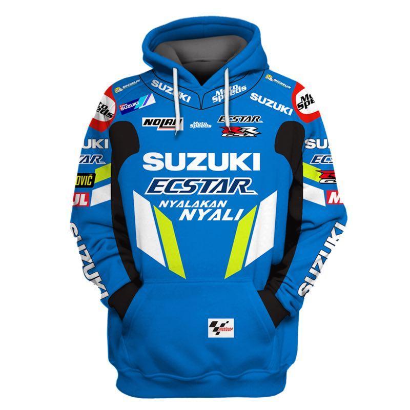 2021 New Design 3D   Hoodie Racing Engine Men's Creative Outdoor Fashion Hoodie Jacket Sports Tops