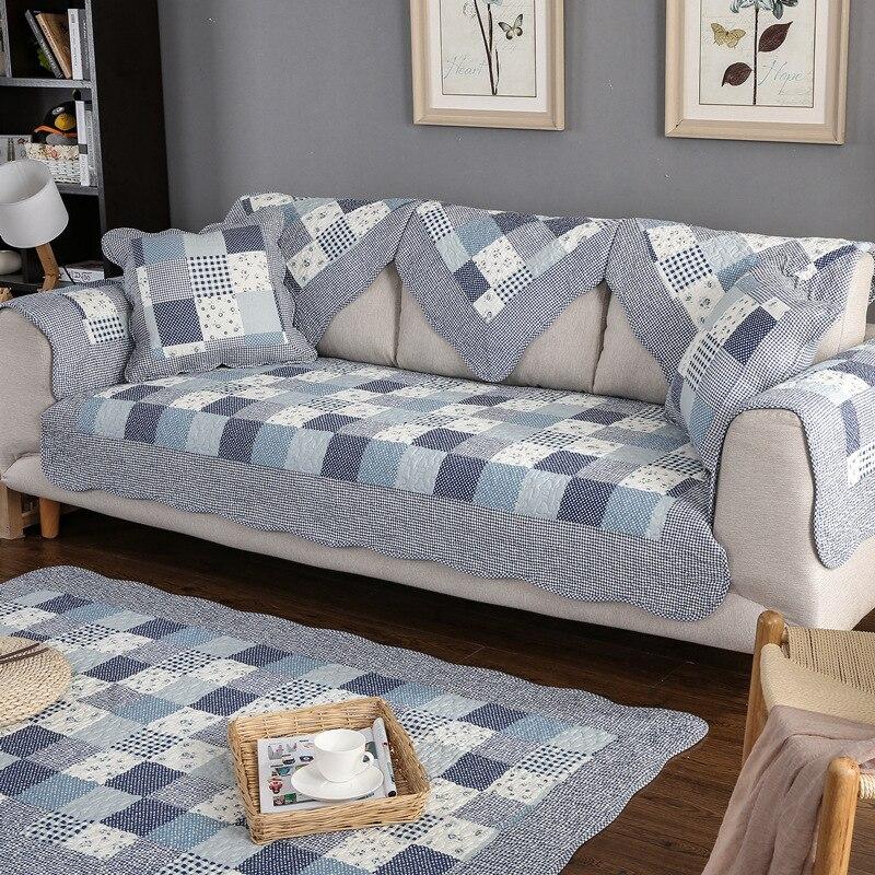Sofá seccional, funda para sofá, alfombrilla de algodón elástica para perros y niños, 1 uds, fundas para sofá, Protector de muebles, toalla estampada antideslizante para sofás