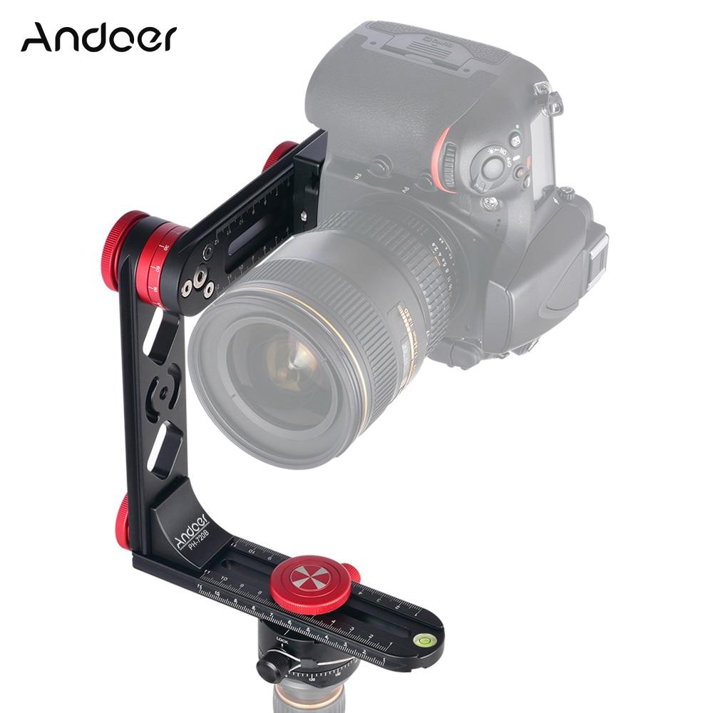 Andoer PH-720B 720 بانورامية رئيس ث/Arca-السويسري القياسية الكرة رئيس الإفراج السريع لوحة حقيبة حمل لكانون نيكون سوني DSLR كاميرا
