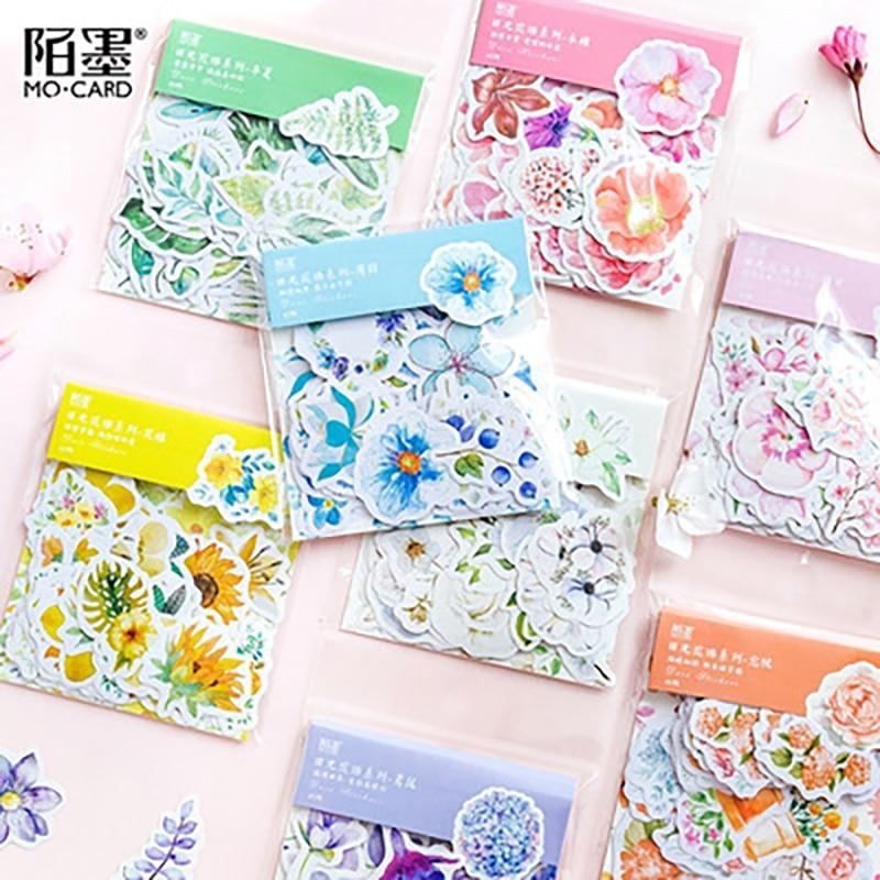 journey-namm-45-pz-borsa-8-colori-fiori-freschi-deco-diario-adesivi-scrapbooking-planner-diario-spazzatura-adesivi-decorativi-di-cancelleria