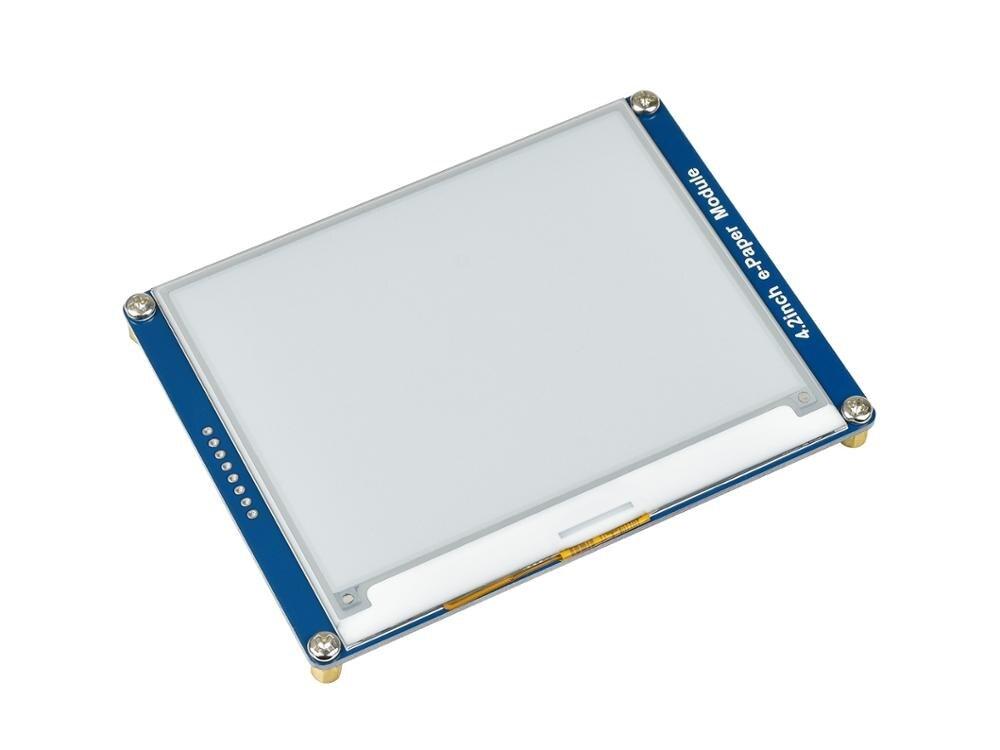 Módulo de Exibição Através da Interface E-ink de 4.2 Resolução de 400×300 com Controlador Polegadas Incorporado Comunicando Spi