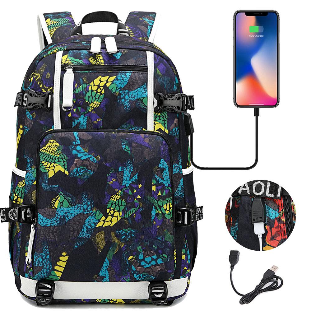 تخصيص شعارك اسم صورة حقيبة الظهر للمراهقين الحقائب المدرسية حقيبة لابتوب مقاوم للماء USB شحن Mochila الأنثوية حقيبة السفر