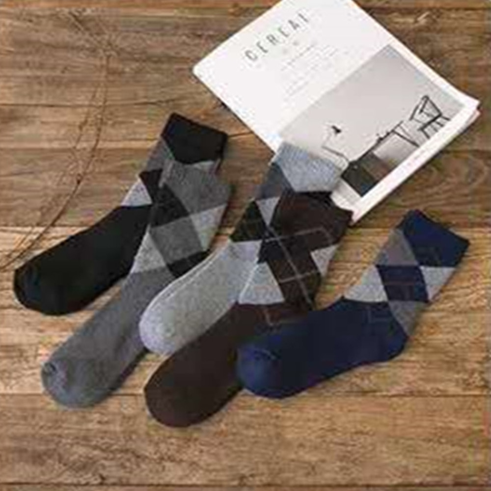 2021 Men's Socks Winter Thicken Warm Terry Socks Male Business Casual Thermal Cotton Socks Men gift fashions Comfort 5 Pairs