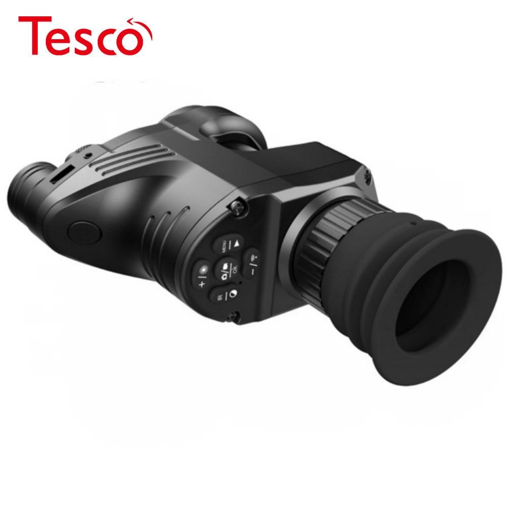 PARD NV700 Riflescope Digital Night Vision Built-in IR-illuminator Red Laser add on Rifle Scope NV Monocular IR Camera Recorder