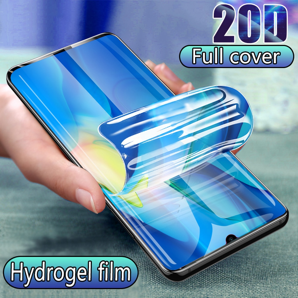 Full Cover Curved Soft For LG K61 Dual SIM Hydrogel Film Screen Protector For LG Q61 Not Tempered Glass