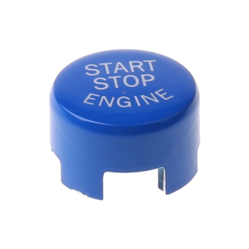 Para BMW- F30 F10 F34 F15 F25 F48 X1 X3 X4 X5 X6 parada de arranque de motor de coche botón rojo