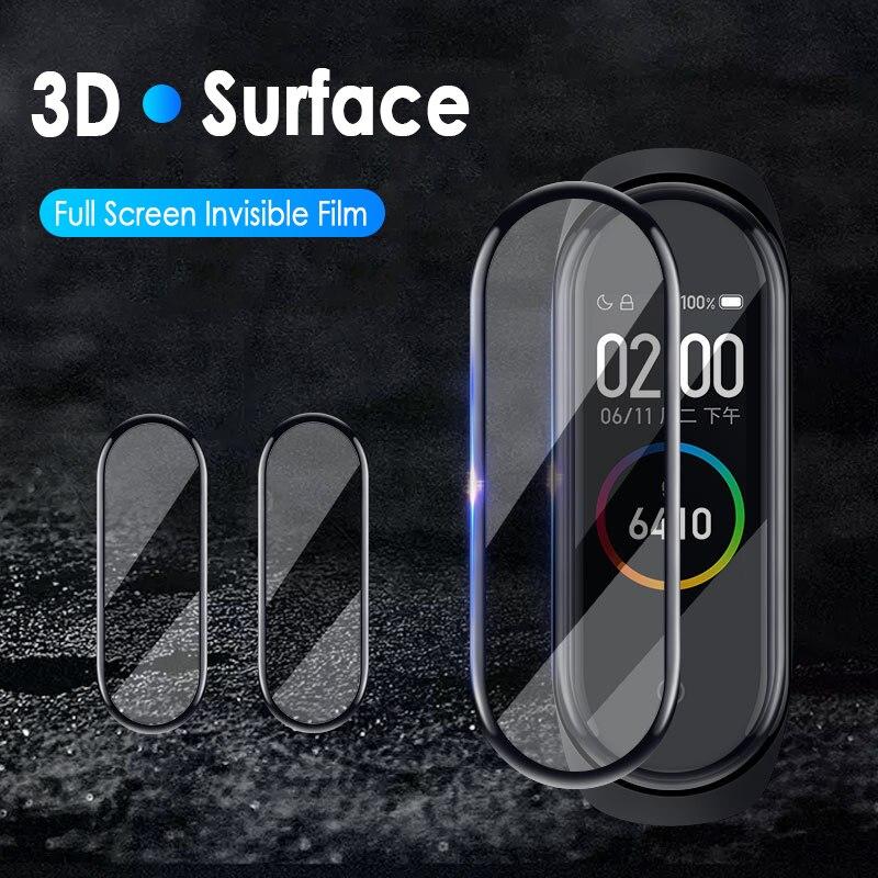 Mini Protective film for Xiaomi mi band 4 strap explosion-proof Screen protector