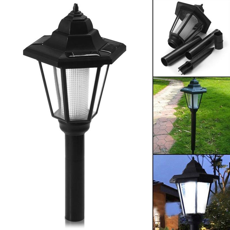 Светодиодный настенный светильник на солнечной батарее, уличная водонепроницаемая лампа для сада, забора, патио, украшение для дома