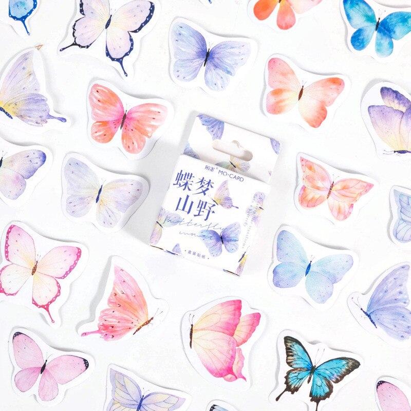 46-unids-caja-ins-estilo-mariposa-pegatinas-decoracion-de-albumes-de-recortes-de-papeleria