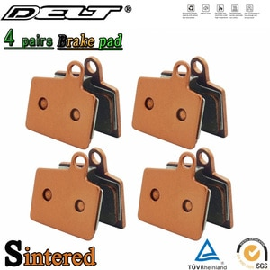 4 Pair MTB Mountain Bike Cycling Sintered Bicycle Disc Brake Pad For HAYES Dyno Stroker Ryde Accessories