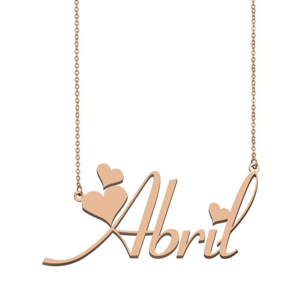 Collar con nombre personalizado para mujer, mejores amigos, cumpleaños, boda, Navidad, regalo...