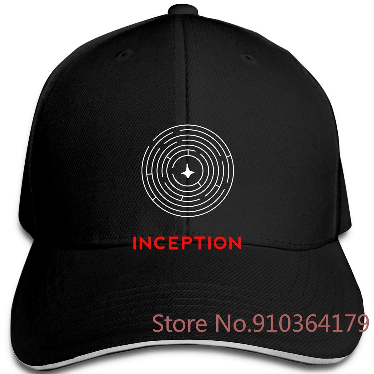Edongquwe Cool Inception Estilo negro Swag ajustable gorras de béisbol hombres mujeres