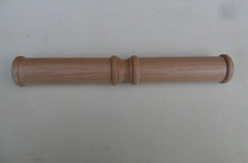 Бук круглая голова тай-чи правитель деревянных стержней боевых искусств кунг-фу палочки бар удобно