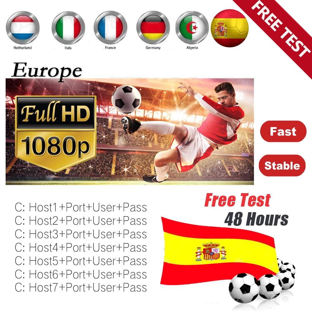 1 an CCcam 7 Clines egygold Leurope Cccam Espagne stable Pologne Portugal Allemagne Ccam serveur Pour GTmedia V8 NOVA TV Récepteur