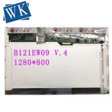 """B121EW09 V.4 B121EW09 V4 LTN121AT08 LP121WX3-TPB1 12.1 """"'Laptop ekran LCD 1280*800 w ramach procedury nadmiernego deficytu 30 pinów"""