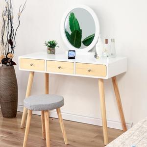 Bedroom Dressing Table Furniture Makeup Mirror Makeup Table Home Bedroom Furniture Dressers Bedside Table Makeup Table HWC