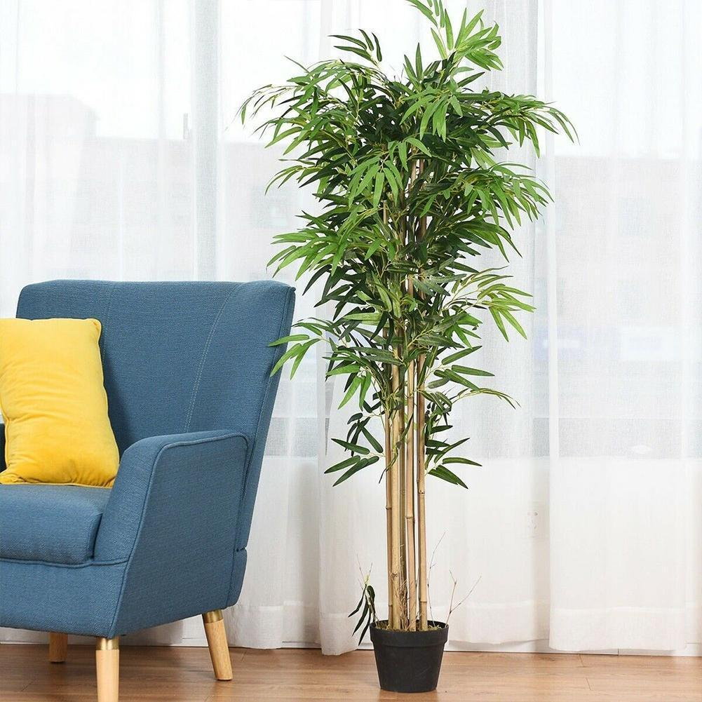 Simulation Bamboo Leaves props Home Garden Festive supplies Decoration green Plants Party Artificial fake Leaves Plastic Z8I6