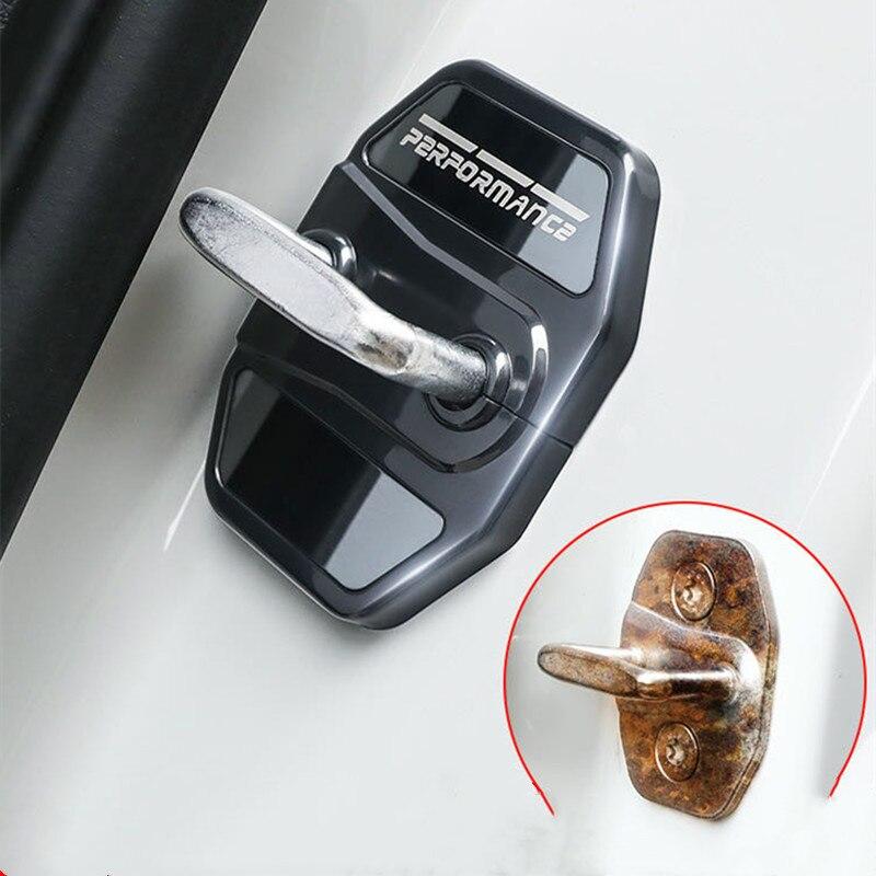 4PCS Für BMW X2 X3 X4 X5 X6 F39 G01 G02 G05 G06 G11 G32 Auto Türschloss Schutzhülle abdeckung Anti-rost Anti-tragen Styling Zubehör